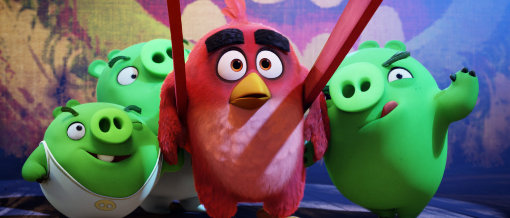 Angry Birds™ & ©2019 Rovio Entertainment Corporation and Rovio Animation Ltd. All Rights Reserved. With Severe Space Limitations: ™ & ©2019 Rovio.